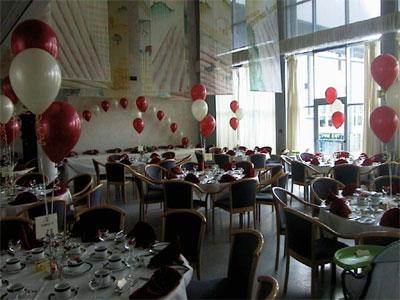 Index of ballonnen ballondecoratie for Ballonnen tafels