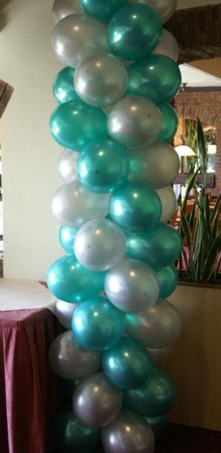 Ballonnenboog maken zelf for Ballonnen versiering zelf maken