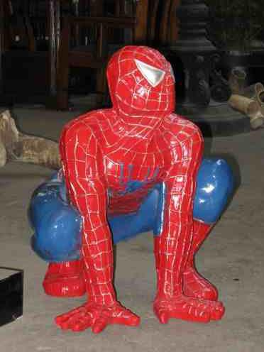 U Spiderman Polyesterpoppen-huren-...