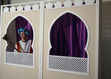 Sfeerdecoratie themadecors sfeeraankleding decor verhuur eindhoven feestaankleding tel 040 - Nacht kamer decoratie ...