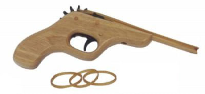 pistool knutselen voor kinderfeestje