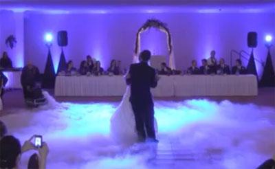 rook op bruiloft